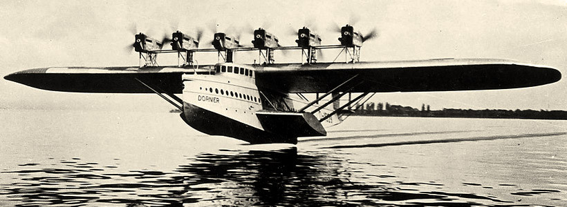 Hidroavionul  DORNIER Do-X